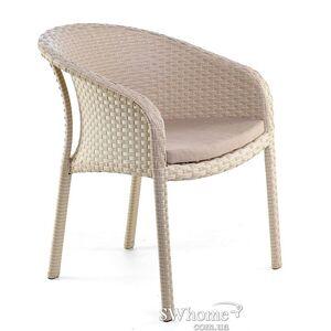 Кресло из ротанга Pradex Блюз Бежевое