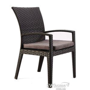 Кресло из ротанга Pradex Калифорния Черное