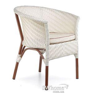 Кресло из ротанга Pradex Неаполь Белое