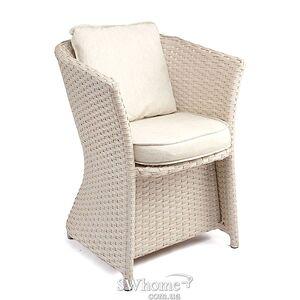 Кресло из ротанга Pradex Релакс Бежевое