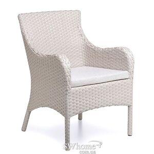 Кресло из ротанга Pradex Тоскана Белое