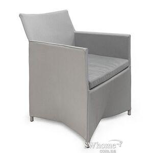 Кресло из ротанга Pradex Бонд Серое