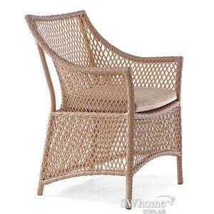 Кресло из ротанга Pradex Грейс Бежевое