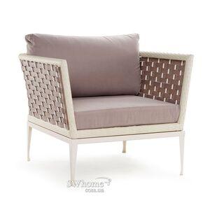 Кресло из ротанга Pradex Олли Бежевое