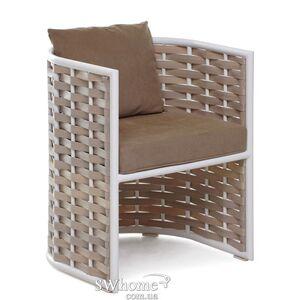 Кресло из ротанга Pradex Тин Коричневое