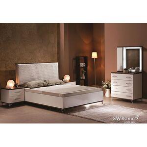Двуспальная кровать Embawood Мода Орех