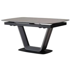 Керамический стол раскладной обеденный Vetro Mebel TML-870 Айс грей