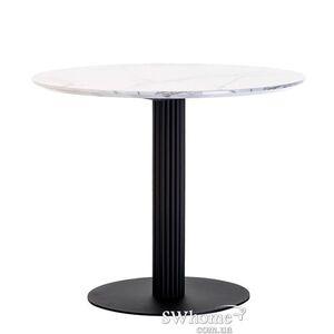 Обеденный стол Vetro Mebel T-319 Сивелла белый мрамор