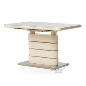 Раскладной обеденный стол Vetro Mebel TM-52-1 Молочный
