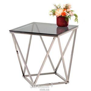 Журнальный стол Vetro Mebel CP-2 Тонированный - серебро