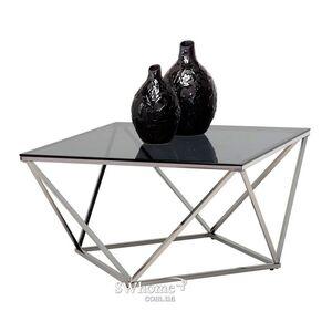 Журнальный стол Vetro Mebel CP-1 Тонированный - серебро