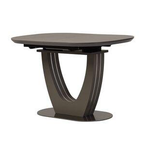Керамический стол раскладной обеденный Vetro Mebel TML-865-1 Айс грей