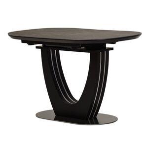 Керамический стол раскладной обеденный Vetro Mebel TML-865-1 Черный оникс