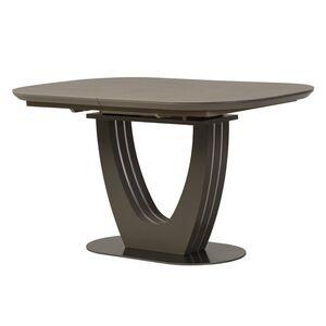Керамический стол раскладной обеденный Vetro Mebel TML-865 Серый топаз