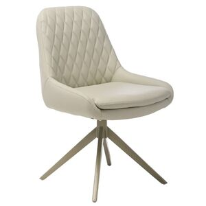 Поворотное кресло Vetro Mebel R-80 Светло-серое