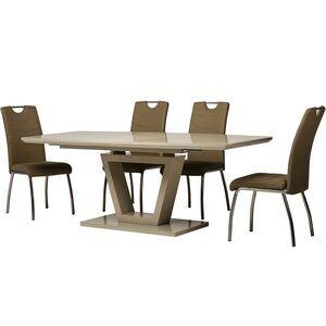 Стол раскладной обеденный Vetro Mebel TM-63 Капучино