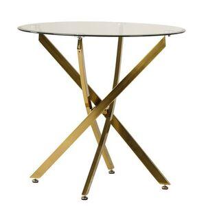 Обеденный стол Vetro Mebel T-314 Золото