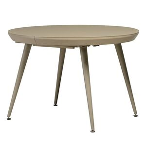 Раскладной обеденный стол Vetro Mebel TM-175 Матовый Капучино
