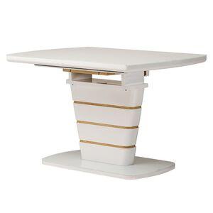 Раскладной обеденный стол Vetro Mebel TM-59-1 Белый
