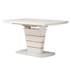 Раскладной обеденный стол Vetro Mebel TM-59 Белый