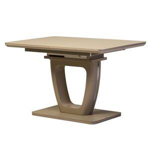 Раскладной обеденный стол Vetro Mebel TML-560 Матовый капучино