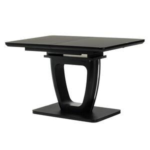 Раскладной обеденный стол Vetro Mebel TML-560 Матовый черный