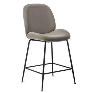 Барный стул Vetro Mebel B-132 Пепельный
