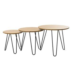 Комплект столов Vetro Mebel CS-15 Орех