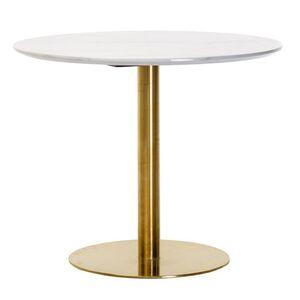 Обеденный стол Vetro Mebel T-320 Агария белый мрамор
