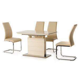 Стол раскладной обеденный Vetro Mebel ТМ-50-2 Молочный