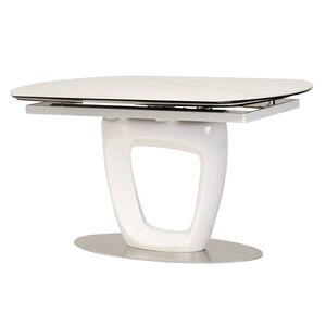 Раскладной обеденный стол Vetro Mebel TML-825 Белый
