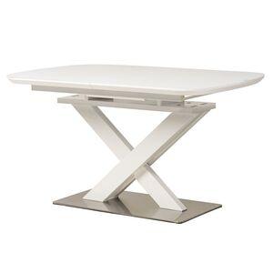 Раскладной обеденный стол Vetro Mebel TML-500 Матовый белый