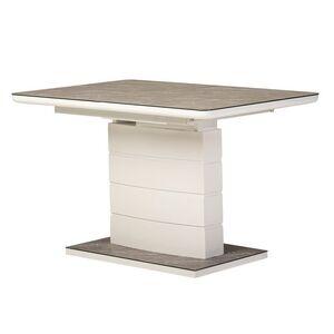 Раскладной обеденный стол Vetro Mebel TM-49 Серый агат