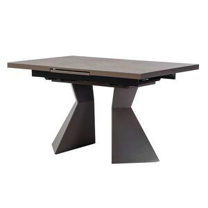 Раскладной обеденный стол Vetro Mebel TML-845 Гриджио латте