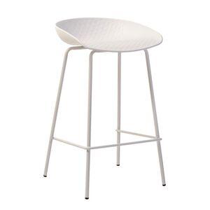 Барный стул Vetro Mebel B-06 Белый