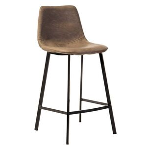 Полубарный стул Vetro Mebel B-16 Бежевый антик