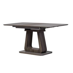 Раскладной обеденный стол Vetro Mebel TML-521-1 Матовый серый