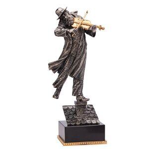 Статуэтка бронзовая Vizuri (Визури) Скрипач на крыше J04