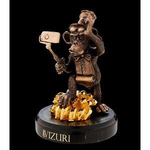 Статуэтка бронзовая Vizuri (Визури) Селфи года C06-1