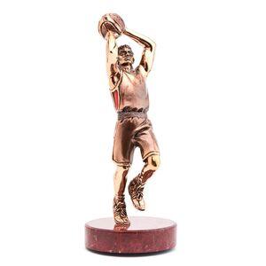 Статуэтка бронзовая Vizuri (Визури) Баскетболист S05
