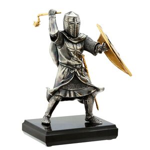 Статуэтка бронзовая Vizuri (Визури) Тевтонский рыцарь W03