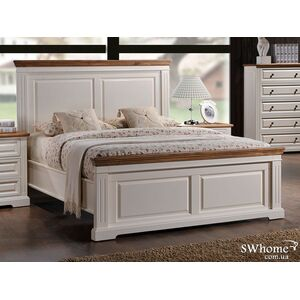 Двуспальная кровать Domini Калифорния Античный белый