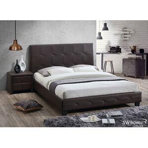 Двуспальная кровать Domini Хьюстон Шоколад