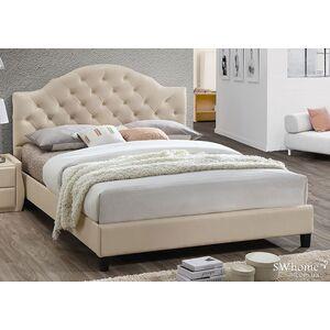 Двуспальная кровать Domini Мэриленд Беж