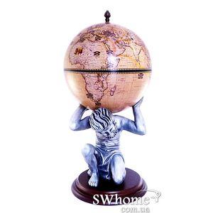 Глобус бар напольный Atlas 42016N-WE Зодиак