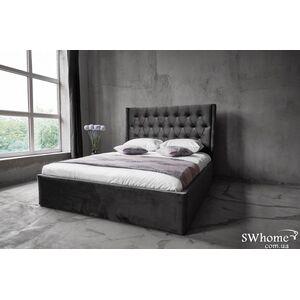 Двуспальная кровать Embawood Борнео Серая