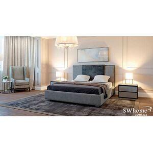 Двуспальная кровать Embawood Ажур Серая
