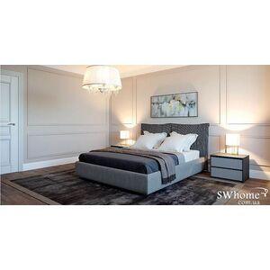 Двуспальная кровать Embawood Меланж Серая