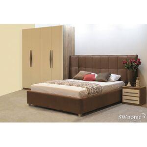 Двуспальная кровать Embawood Прайм Коричневая