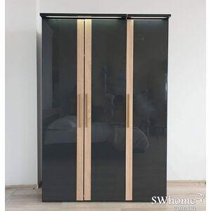 Шкаф Embawood Капри 3-дверный Антрацит